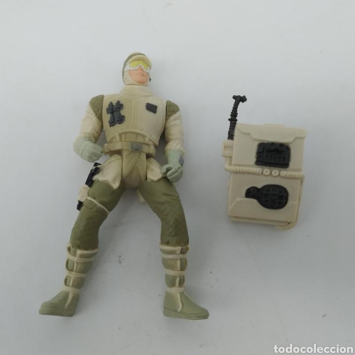 Figuras y Muñecos Star Wars: Hoth Rebel Trooper de Star Wars LFL Kenner año 1997 The Power of the Force - Foto 4 - 213744687