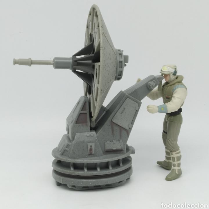 HOTH REBEL TROOPER CON BLASTER CAÑÓN LÁSER DE STAR WARS LFL KENNER AÑO 1997 THE POWER OF THE FORCE (Juguetes - Figuras de Acción - Star Wars)