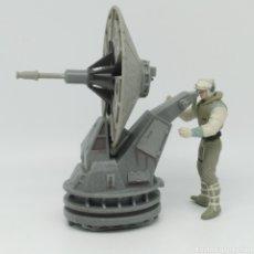 Figuras y Muñecos Star Wars: HOTH REBEL TROOPER CON BLASTER CAÑÓN LÁSER DE STAR WARS LFL KENNER AÑO 1997 THE POWER OF THE FORCE. Lote 213744895