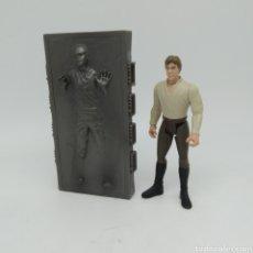 Figuras y Muñecos Star Wars: HAN SOLO EN CARBONITA DE STAR WARS LFL KENNER AÑO 1996 THE POWER OF THE FORCE. Lote 213756751