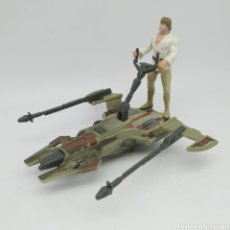 Figuras y Muñecos Star Wars: DELUXE LUKE SKYWALKER'S DESERT SPORT SKIFF STAR WARS LFL KENNER HASBRO 1996 THE POWER OF THE FORCE. Lote 213758636