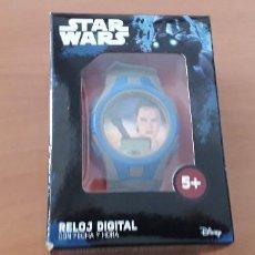 Figuras y Muñecos Star Wars: 21-000572 RELOJ STAR WARS REY (SIN PILAS). Lote 213782687
