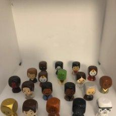 Figuras y Muñecos Star Wars: 19 FIGURITAS STAR WARS + 2 DADOS. Lote 213913173