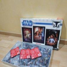 Figuras y Muñecos Star Wars: STAR WARS TRILOGÍA CLÁSICA 3 PUZZLES EDUCA LA GUERRA DE LAS GALAXIAS PUZZLES DE 1000 PIEZAS CADA UNO. Lote 214229300