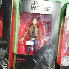 Figuras y Muñecos Star Wars: STAR WARS BLACK SERIES 15 CM. HAN SOLO. Lote 214364911