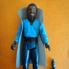 Figuras y Muñecos Star Wars: FIGURA STAR WARS LANDO CARLISSIAN WHITE TEETH SMILE 100% COMPLETA 1980 VINTAGE KENNER .. Lote 214466905
