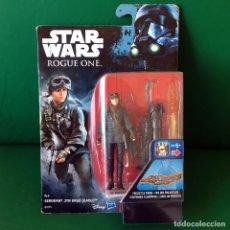 Figuras y Muñecos Star Wars: FIGURA STAR WARS - ROGUE ONE - SERGEANT JYN ERSO EADU - NUEVO EN BLISTER A ESTRENAR!!. Lote 215069656