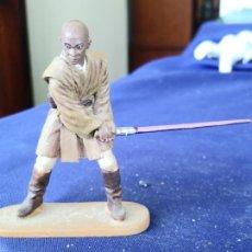 Figurines et Jouets Star Wars: STAR WARS FIGURAS DE PLOMO, PLANETA DEAGOSTINI: MACE WINDU. Lote 215201392