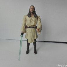 Figuras y Muñecos Star Wars: QUI-GON JINN-STAR WARS- HASBRO 2011-10 CM. Lote 215226117
