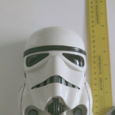Figuras y Muñecos Star Wars: STAR WARS STORMTROOPER 17 CMS 1995 CABEZA BUSTO MICROMACHINES LEWIS GALOOB GUERRA GALAXIAS. Lote 215452406
