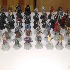 Figuras y Muñecos Star Wars: STAR WARS FIGURAS AJEDREZ COMPLETO, 64/64, COLECCIONABLE EAGLEMOSS PLANETA ALTAYA, FASCICULOS 64/64. Lote 216379956