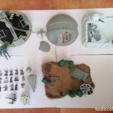 Figurines et Jouets Star Wars: MICROMACHINES STAR WARS PLAYSETS Y FIGURAS LOTE GUERRA GALAXIAS. Lote 216862555