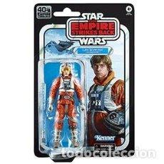 Figuras y Muñecos Star Wars: LUKE PILOTO SNOW E5 FIG 15 CM STAR WARS 40TH ANNIVERSARY EMPIRE STRIKES BACK. Lote 217033930