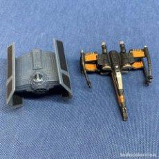 Figuras y Muñecos Star Wars: DOS NAVES - STAR WARS - ENTRE 5 Y 7 CM. Lote 217248590