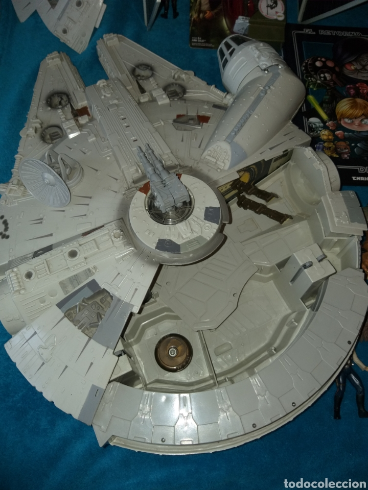 Figuras y Muñecos Star Wars: Star Wars lote naves/vehículos/figuras/libro Kenner y Hasbro - Foto 3 - 217566830