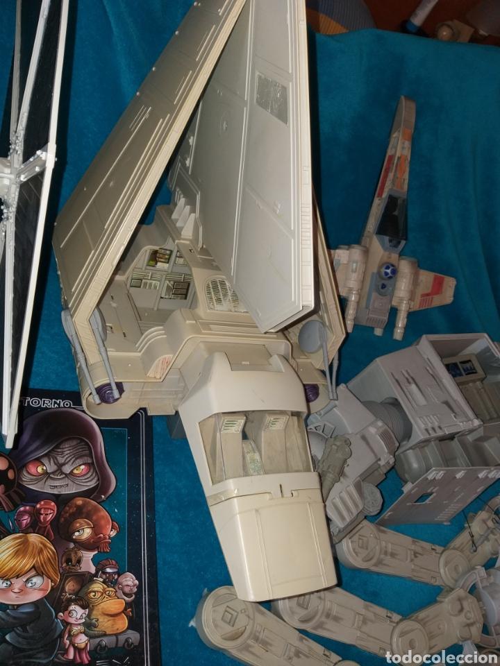 Figuras y Muñecos Star Wars: Star Wars lote naves/vehículos/figuras/libro Kenner y Hasbro - Foto 5 - 217566830