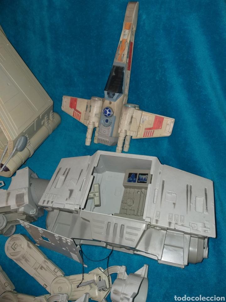 Figuras y Muñecos Star Wars: Star Wars lote naves/vehículos/figuras/libro Kenner y Hasbro - Foto 6 - 217566830