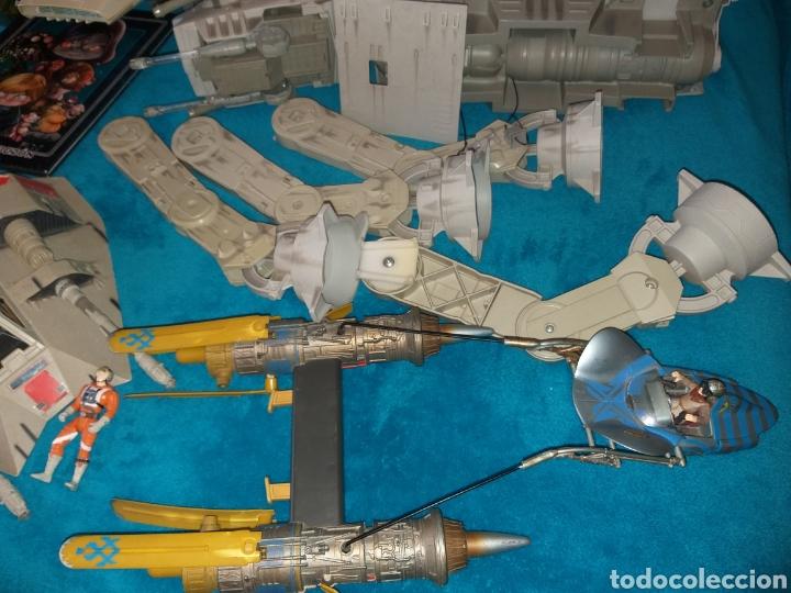 Figuras y Muñecos Star Wars: Star Wars lote naves/vehículos/figuras/libro Kenner y Hasbro - Foto 8 - 217566830