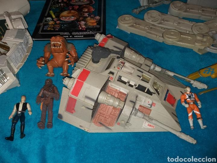 Figuras y Muñecos Star Wars: Star Wars lote naves/vehículos/figuras/libro Kenner y Hasbro - Foto 9 - 217566830