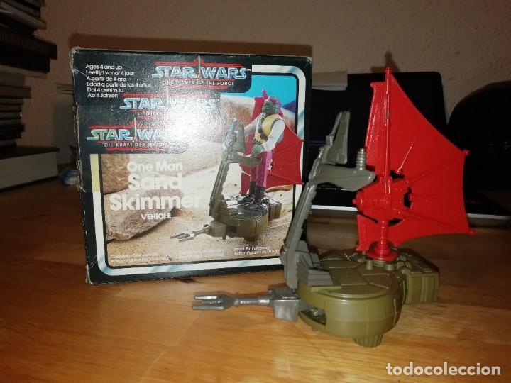 NAVE STAR WARS VINTAGE - ONE MAN SAND SKIMMER VEHICLE - EN CAJA ORIGINAL (Juguetes - Figuras de Acción - Star Wars)