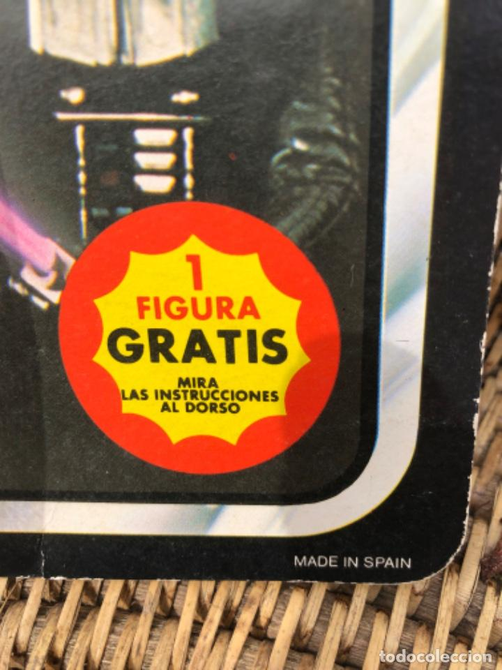 Figuras y Muñecos Star Wars: DARTH VADER PBP CON BLISTER ABIERTO MADE IN SPAIN - Foto 2 - 217981081