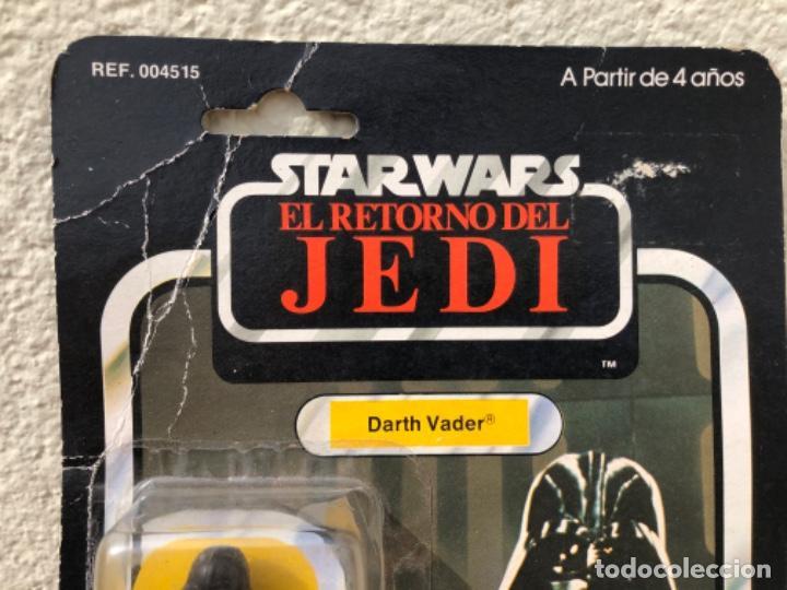 Figuras y Muñecos Star Wars: DARTH VADER PBP CON BLISTER ABIERTO MADE IN SPAIN - Foto 3 - 217981081