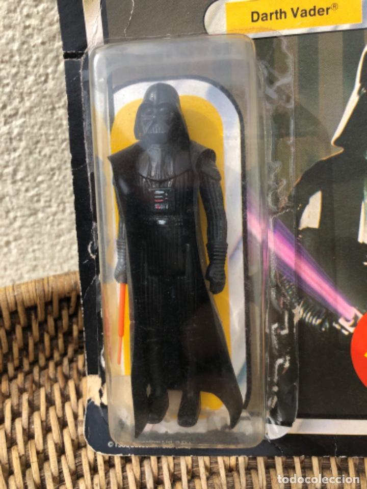 Figuras y Muñecos Star Wars: DARTH VADER PBP CON BLISTER ABIERTO MADE IN SPAIN - Foto 4 - 217981081