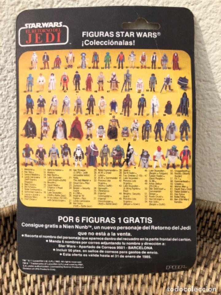 Figuras y Muñecos Star Wars: DARTH VADER PBP CON BLISTER ABIERTO MADE IN SPAIN - Foto 6 - 217981081