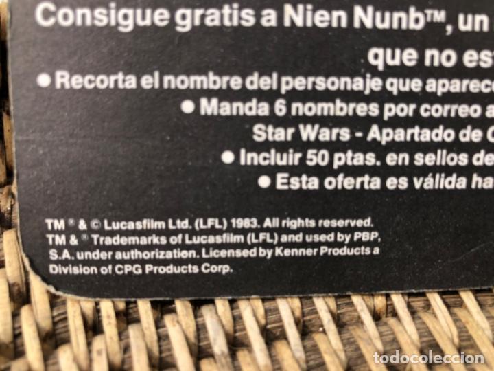 Figuras y Muñecos Star Wars: DARTH VADER PBP CON BLISTER ABIERTO MADE IN SPAIN - Foto 8 - 217981081