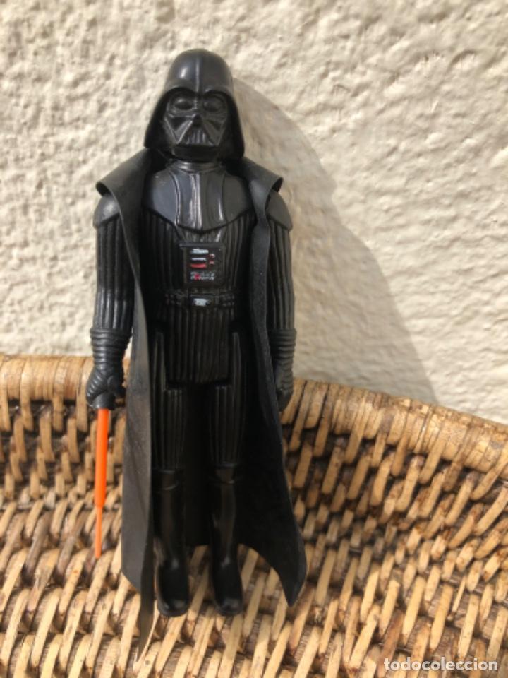 Figuras y Muñecos Star Wars: DARTH VADER PBP CON BLISTER ABIERTO MADE IN SPAIN - Foto 9 - 217981081