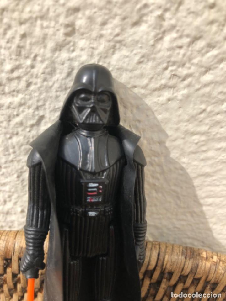 Figuras y Muñecos Star Wars: DARTH VADER PBP CON BLISTER ABIERTO MADE IN SPAIN - Foto 10 - 217981081