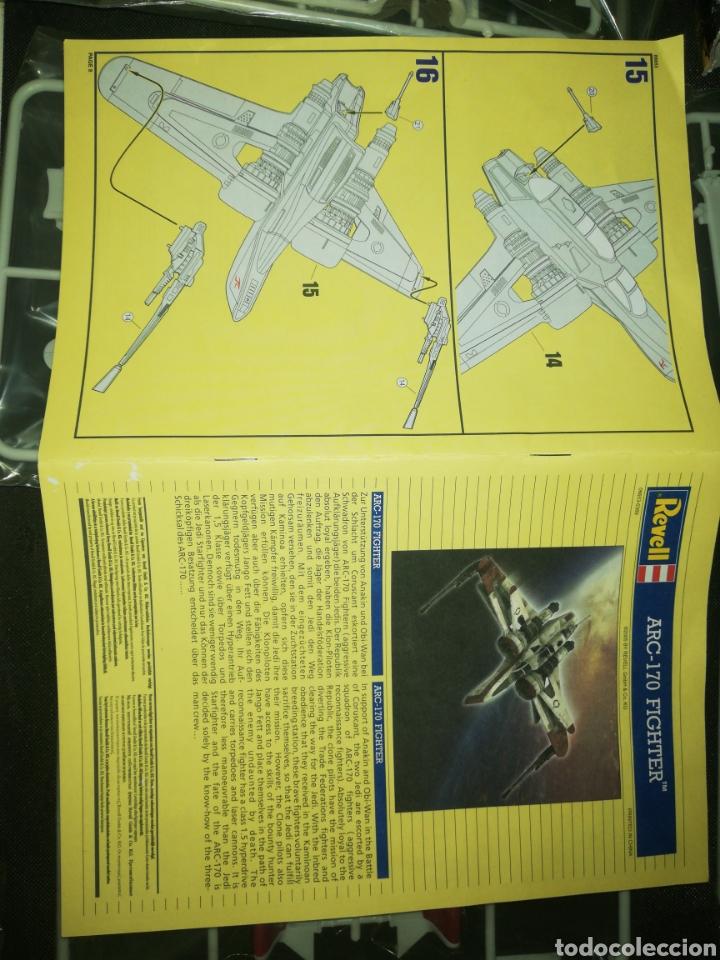 Figuras y Muñecos Star Wars: Revell....... Arc-170 Fighter. - Foto 8 - 218041197