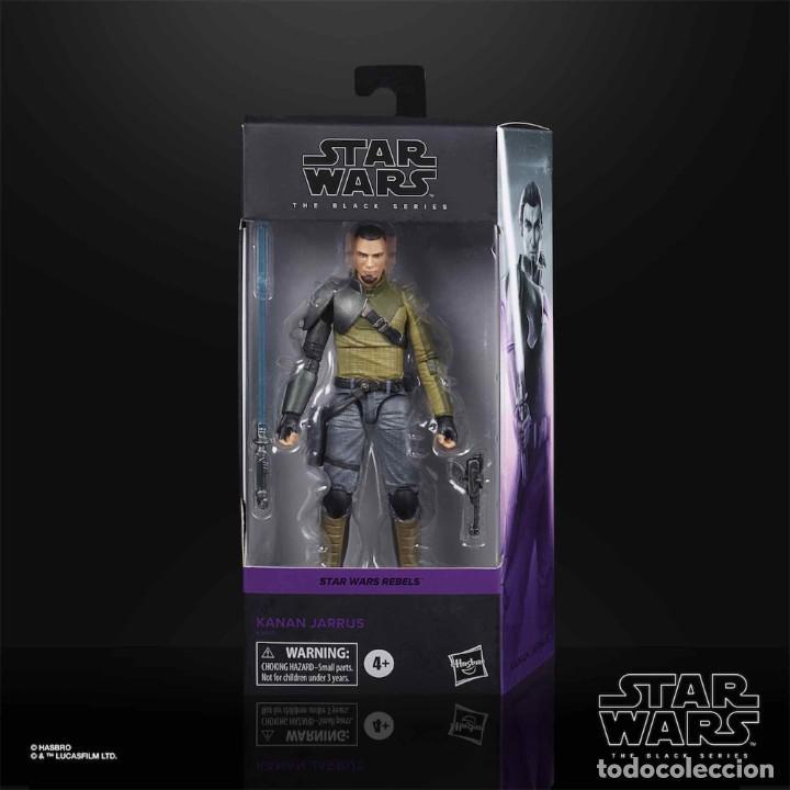 KANNAN JARRUS FIGURA 15 CM BLACK SERIES STAR WARS REBELS (Juguetes - Figuras de Acción - Star Wars)
