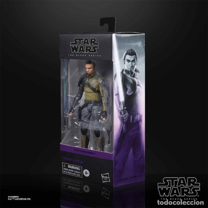 Figuras y Muñecos Star Wars: KANNAN JARRUS FIGURA 15 CM BLACK SERIES STAR WARS REBELS - Foto 2 - 218095301
