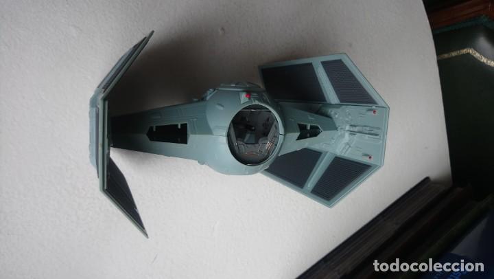 Figuras y Muñecos Star Wars: Maqueta Nave tie caza imperial darth vader star wars tamaño grande hasbro 2001 - Foto 2 - 218102296