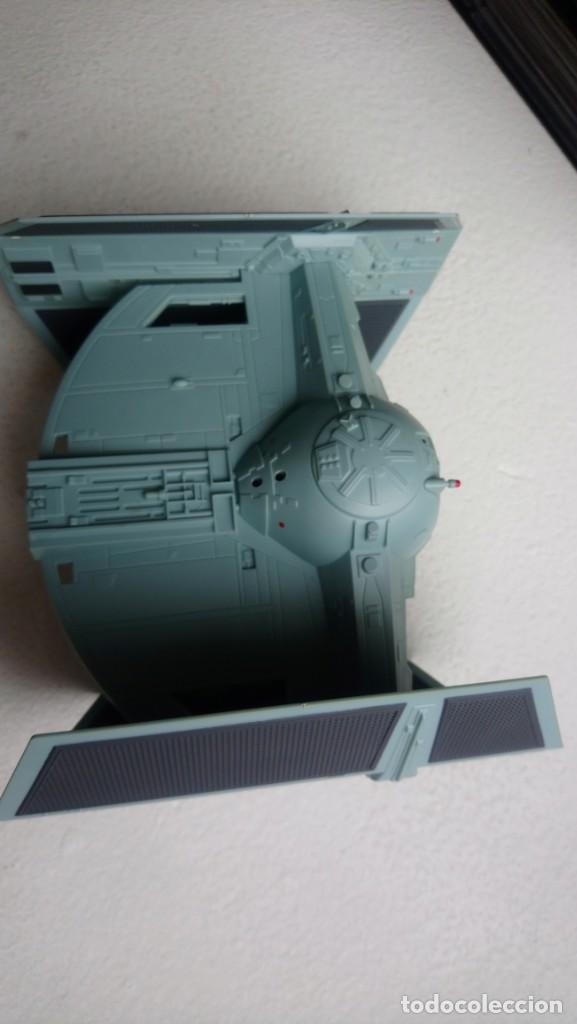 Figuras y Muñecos Star Wars: Maqueta Nave tie caza imperial darth vader star wars tamaño grande hasbro 2001 - Foto 3 - 218102296
