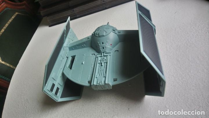 Figuras y Muñecos Star Wars: Maqueta Nave tie caza imperial darth vader star wars tamaño grande hasbro 2001 - Foto 4 - 218102296