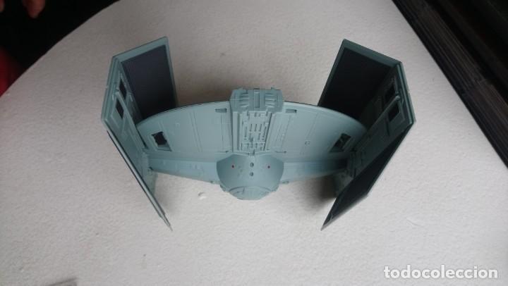 Figuras y Muñecos Star Wars: Maqueta Nave tie caza imperial darth vader star wars tamaño grande hasbro 2001 - Foto 8 - 218102296