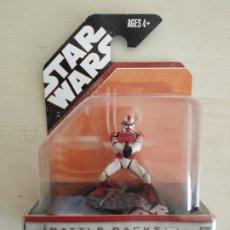 Figuras y Muñecos Star Wars: STAR WARS SHOCK TROOPER BATTLE PACKS UNLEASHED BLISTER SIN ABRIR HASBRO. Lote 218270005