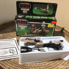 Figuras y Muñecos Star Wars: SPEEDER BIKE STAR WARS VINTAGE COMPLETO EN CAJA. Lote 218293117
