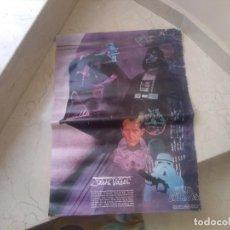 Figuras y Muñecos Star Wars: POSTER STAR WARS AÑO 1977 PARA CONCESIONARIOS COCA COLA. Lote 219097038
