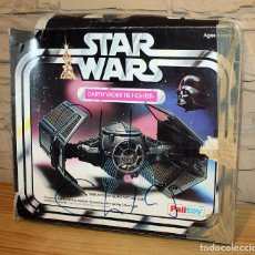Figurines et Jouets Star Wars: CAJA VACIA STAR WARS DARTH VADER TIE FIGHTER - PALITOY - 1977 - CAZA IMPERIAL. Lote 219359593