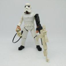 Figuras y Muñecos Star Wars: STAR WARS, HAN SOLO DISFRAZADO DE STORMTROOPER (PARA RESCATAR A LA PRINCESA LEIA ORGANA) HASBRO 2005. Lote 219508771