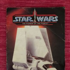 Figuras y Muñecos Star Wars: STAR WARS - CATÁLOGO COMPLETO 1985 - THE POWER OF THE FORCE - MUY BUSCADO. ÚNICO EN TODOCOLECCIÓN.. Lote 219616425