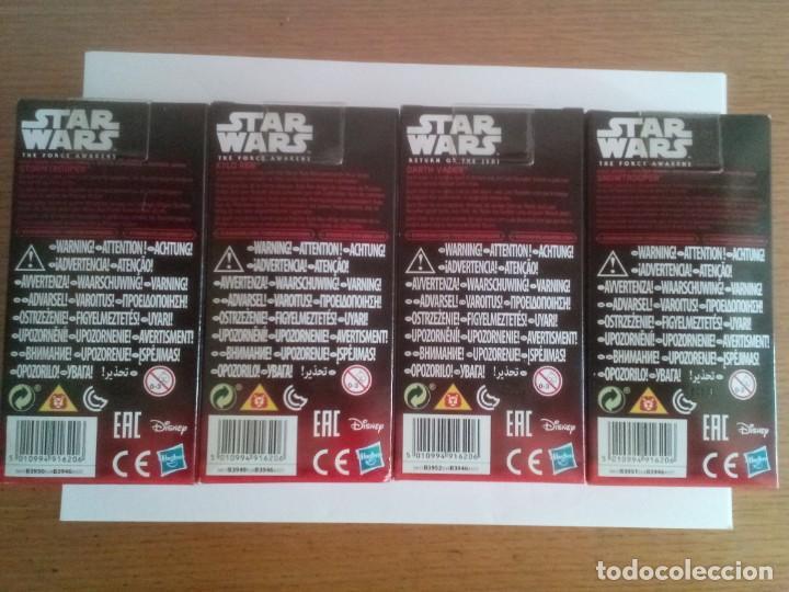 Figuras y Muñecos Star Wars: Lote 4 figuras Star Wars The Force Awakens Hasbro Kylo Ren , Darth Vader ,Snowtrooper, Stormtrooper - Foto 2 - 219902516