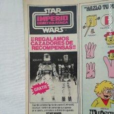 Figuras y Muñecos Star Wars: STAR WARS PUBLICIDAD DE FIGURAS VINTAGE DE EL IMPERIO CONTRAATACA POCH - AÑOS 80. Lote 219915843