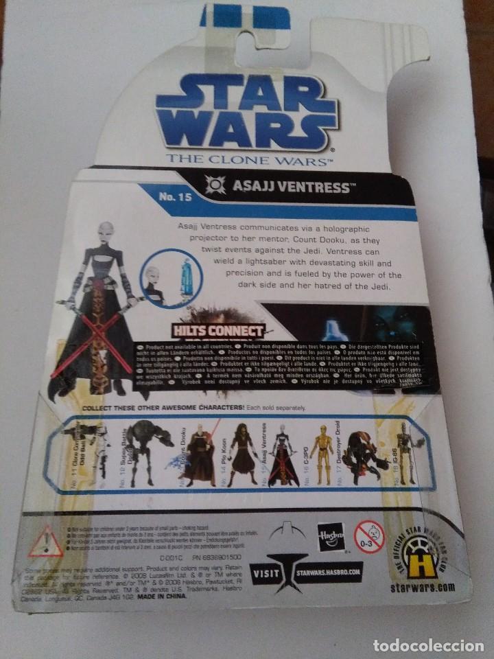 Figuras y Muñecos Star Wars: STAR WARS ASAJJ VENTRESS - Foto 2 - 220249395