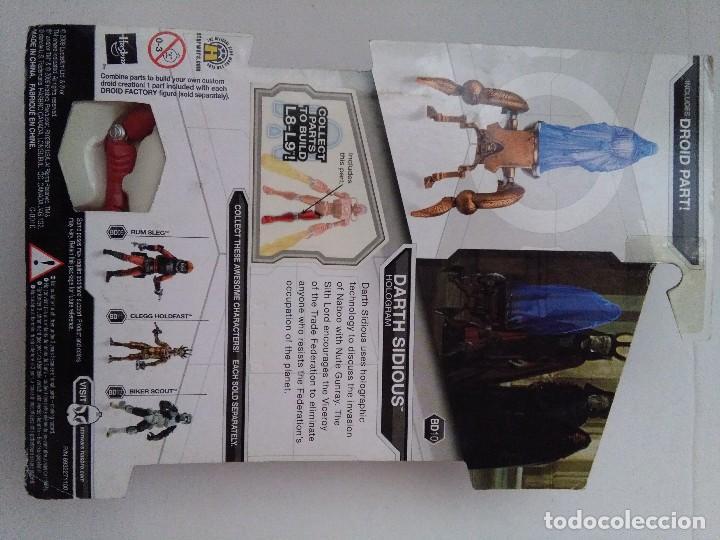 Figuras y Muñecos Star Wars: STAR WARS DARTH SIDIOUS. - Foto 3 - 220253140