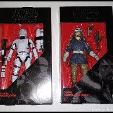 Figuras y Muñecos Star Wars: LOTE STAR WARS # *16* FLAMETROOPER Y *23* CASSIAN ANDOR # THE BLACK SERIES -15 CM- NUEVOS, HASBRO.. Lote 181878627