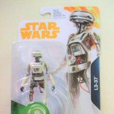 Figuras y Muñecos Star Wars: FIGURA L3-37 - HAN SOLO STAR WARS STORY DISNEY HASBRO GUERRA GALAXIAS ROBOT DROIDE FORCE LINK 3,75. Lote 220669195